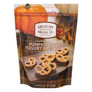 Creative Snacks Pumpkin Spice Yogurt Pretzels