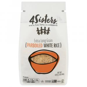 4 Sisters Parboiled Extra Long Grain White Rice