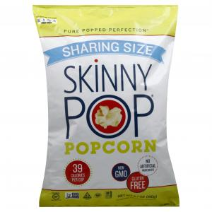 Skinny Pop Gluten Free Popcorn Sharing Size