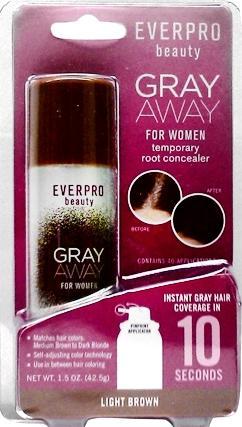 Everpro Beauty Gray Away For Women Light Brown