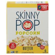 Skinny Pop Butter Microwave Popcorn