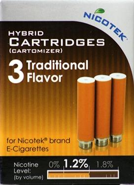Nicotek Traditional 1.2% Refill Cartridge