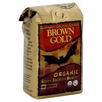 Brown & Gold Organic South American Midnight Ground Coffee