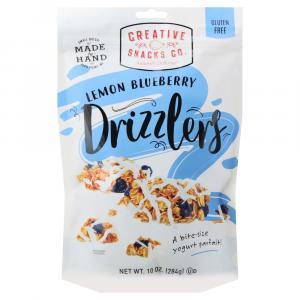 Creative Snacks Drizzlers Lemon Blueberry