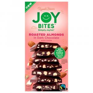 Joy Bites No Sugar Added Dark Chocolate Roasted Almond
