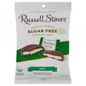 Russell Stover Sugar Free Mint Patties Peg