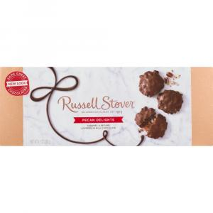 Russell Stover Milk Chocolate Pecan Delights Gift Box