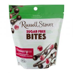 Russell Stover Sugar Free Dark Chocolate Cranberry Bites