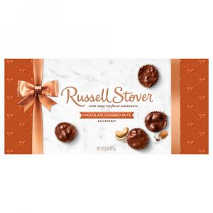 Russell Stover Chocolate Covered Nuts Gift Box