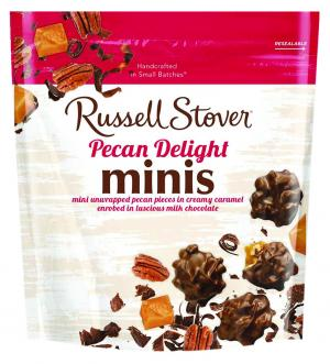 Russell Stover Pecan Delight Minis in Pouch