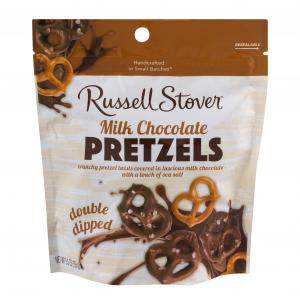 Russell Stover Milk Chocolate Double Dip Pretzels Pouch