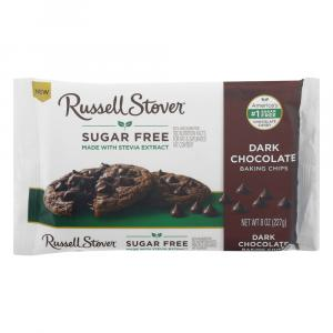 Russel Stover Sugar Free Dark Chocolate Baking Chips