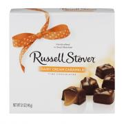Russell Stover Dairy Caramel Cream Box