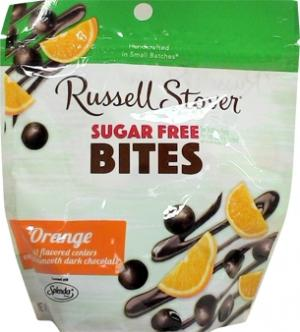 Russell Stover Sugar Free Orange Bites Pouch