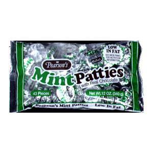 Pearson's Mint Chocolate Patties