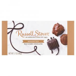 Russell Stover Assorted Milk & Dark Chocolates Trial Box