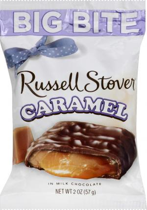 Russell Stover Caramel Big Bite