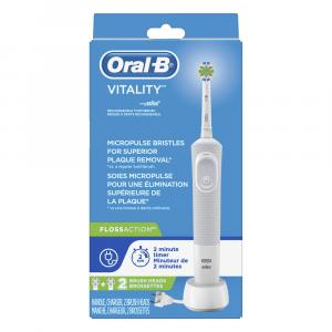 Oral-b Vitality Power Toothbrush Floss Action