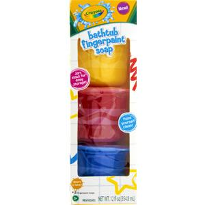 Crayola Bathtub Fingerpaint Soap