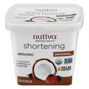 Nutiva Red Palm & Coconut Oil Organic Shortening