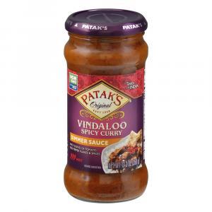 Patak's Hot & Spicy Vindaloo Cooking Sauce