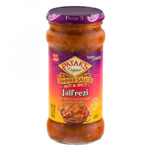 Patak's Hot & Spicy Jalfrezi Curry Simmer Sauce