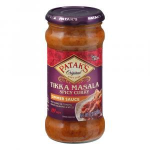 Patak's Tikka Masala Hot & Spicy Cooking Sauce