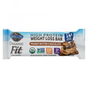 Garden of Life Organic Fit Bar Peanut Butter & Chocolate