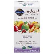 Garden of Life Organic Prenatal Supplement Tablets