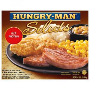 Hungry-man Selects Boneless Fried Chicken & Ham