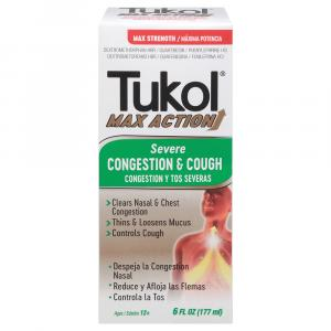 Tukol Max Action Severe Congestion and Cough