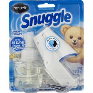 Renuzit Snuggle Linen Escape 1 Warmer + 1 Refill