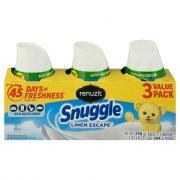 Renuzit Snuggle Linen Escape Gel Air Fresheners Value Pack
