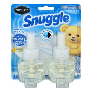 Renuzit Snuggle Linen Escape Scented Oil Refills