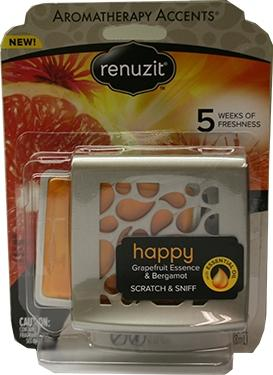 Renuzit Aromatherpy Accents Happy Grapefruit & Bergamot