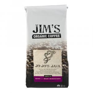 Jim's Organic Ground Coffee Jo-Jo's Java