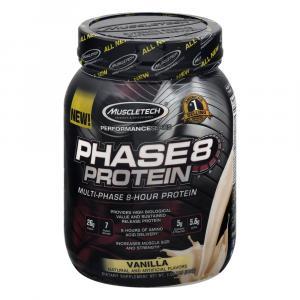 Muscletech Phase 8 Vanilla Protein Powder