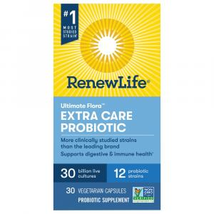 Ultimate Flora Extra Care Daily Probiotic Capsules