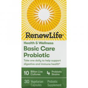 RenewLife Basic Care Probiotic 10 Billion Live Cultures
