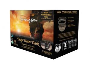 Jumping Bean Organic Deep Water Dark Roast Coffee Pods