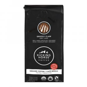 Kicking Horse Organic Grizzly Claw Ground Coffee