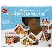 Create-A-Treat Gingerbread Village Kit