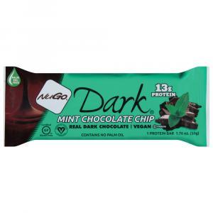 Nugo Dark Mint Chocolate Chip Bar