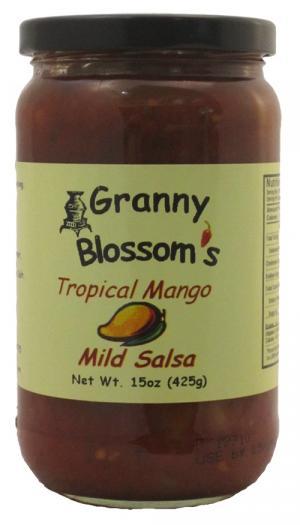 Granny Blossom's Mild Mango Salsa