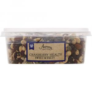 Aurora Natural Cranberry Health Sweet & Salty Trail Mix