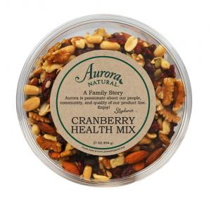 Aurora Natural Cranberry Health Trail Mix