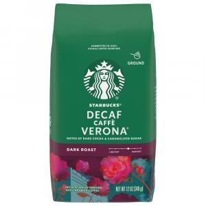 Starbucks Caffe Verona Decaf Coffee