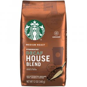Starbucks House Decaf Ground Coffee