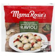 Mama Rosie's Mini Round Spinach & Cheese Ravioli