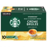 Starbucks Creme Brulee Flavored Ground Coffee K-Cup Pods
